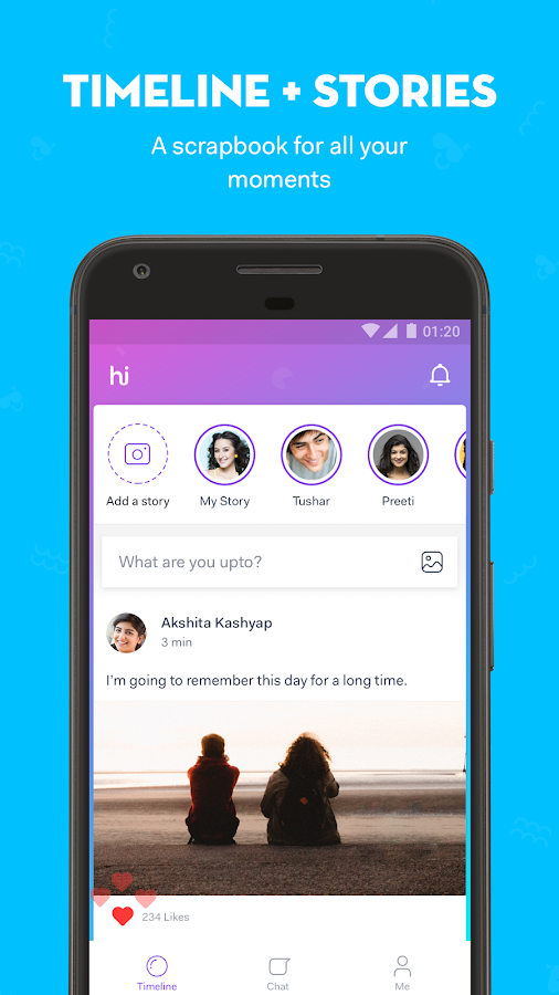 hike messenger- screenshot