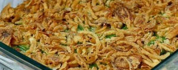 Mom's Green Bean Casserole Recipe