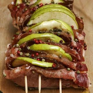 Sweet Apple Cinnamon Pork Tenderloin.