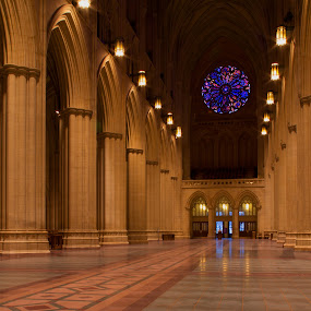 Rose window by Terri Schaffer - Buildings & Architecture Places of Worship (  )