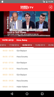 Haberturk TV- screenshot thumbnail