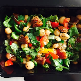 Italian Garbanzo beans/Chickpea Salad For Weight Loss.