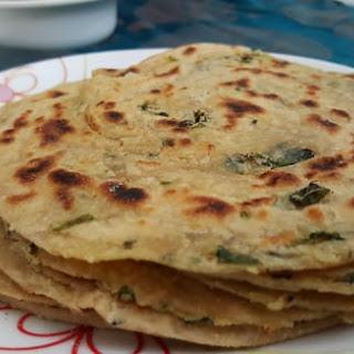 Garlic Pudina paratha