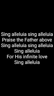 Songbook-基督教歌曲歌詞