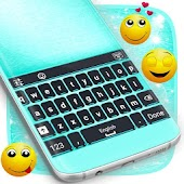 Neon Dash Theme for Keyboard