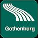 Gothenburg Map offline Icon