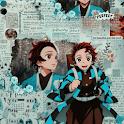 Demon Slayer Anime HD Wallpaper | kimetsu noyaiba icon