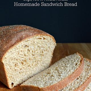 Soft 100% Whole Wheat Sandwich Bread