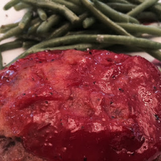 Grilled Meatloaf Patties.