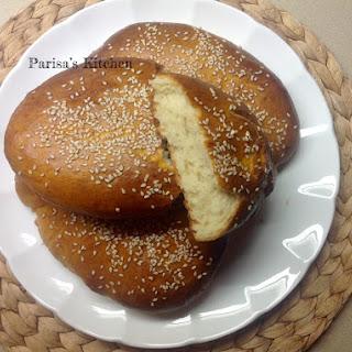 Shirmaal Bread (Persian Milk & Saffron Bread).