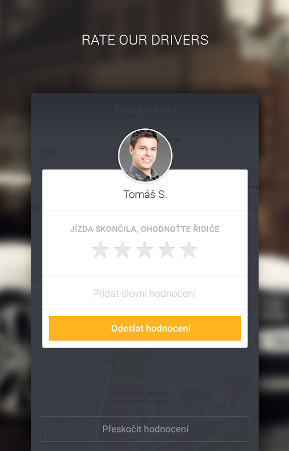 Taxi in Prague- screenshot