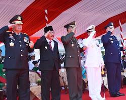 Peringatan Puncak HUT TNI Ke 73 Di jatim