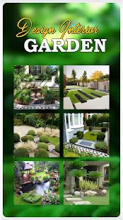 garden interior design home - náhled