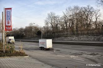 Photo: Genau hier auf der gegenüberliegenden Seite der Pragstraße sind die Einschnitts-Baubereiche Rosensteintunnel in die Wilhelma geplant