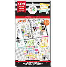 Me & My Big Ideas Happy Planner Sticker Value Pack - Sports