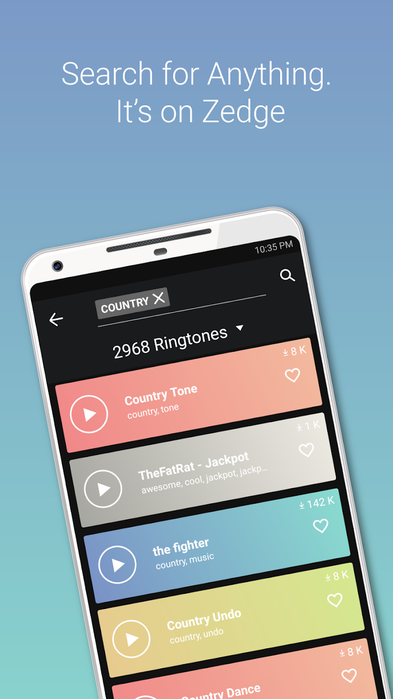 ZEDGE™ Ringtones & Wallpapers Screenshot 3