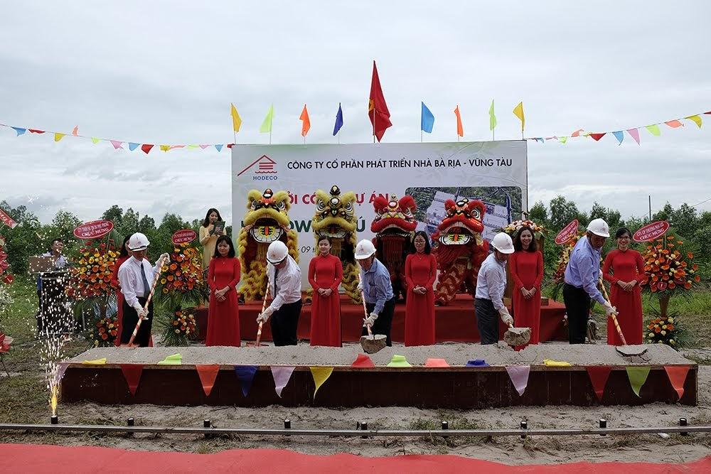 Lễ khởi công xây dựng dự án Ecotown Phú Mỹ