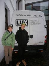 Photo: jeden z prenosových vozov vydavateľstva LUX communication