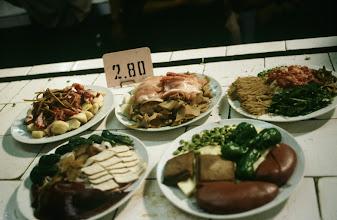 Photo: 11113 鎮江/自由市場/盆菜(料理材料セット)