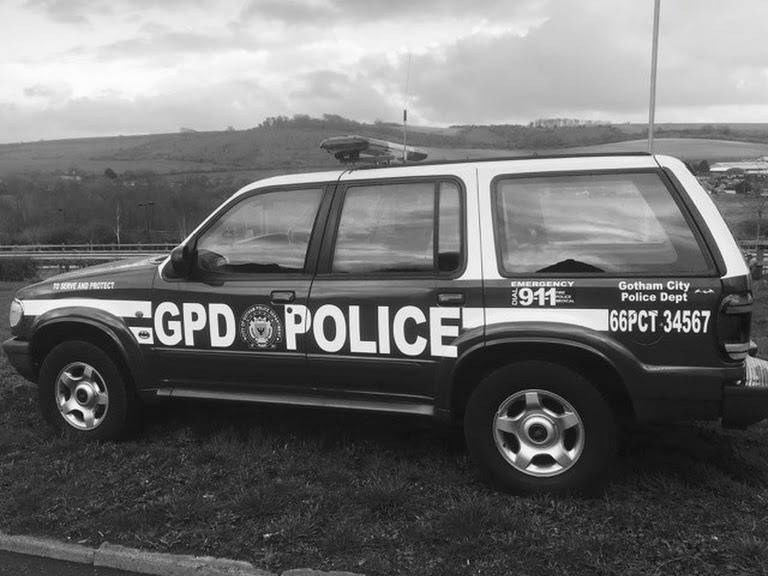 Ford Explorer Gotham City Police Department Interceptor Batman - The Dark Knight Hire Bristol