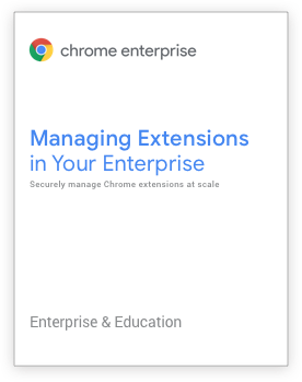 Managing Extensions in Your Enterprise