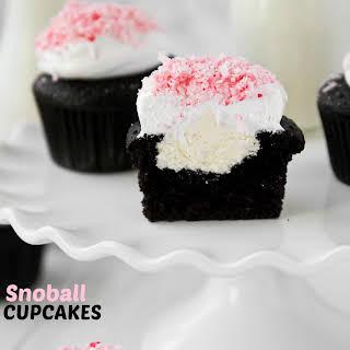 Snoball Cupcakes.