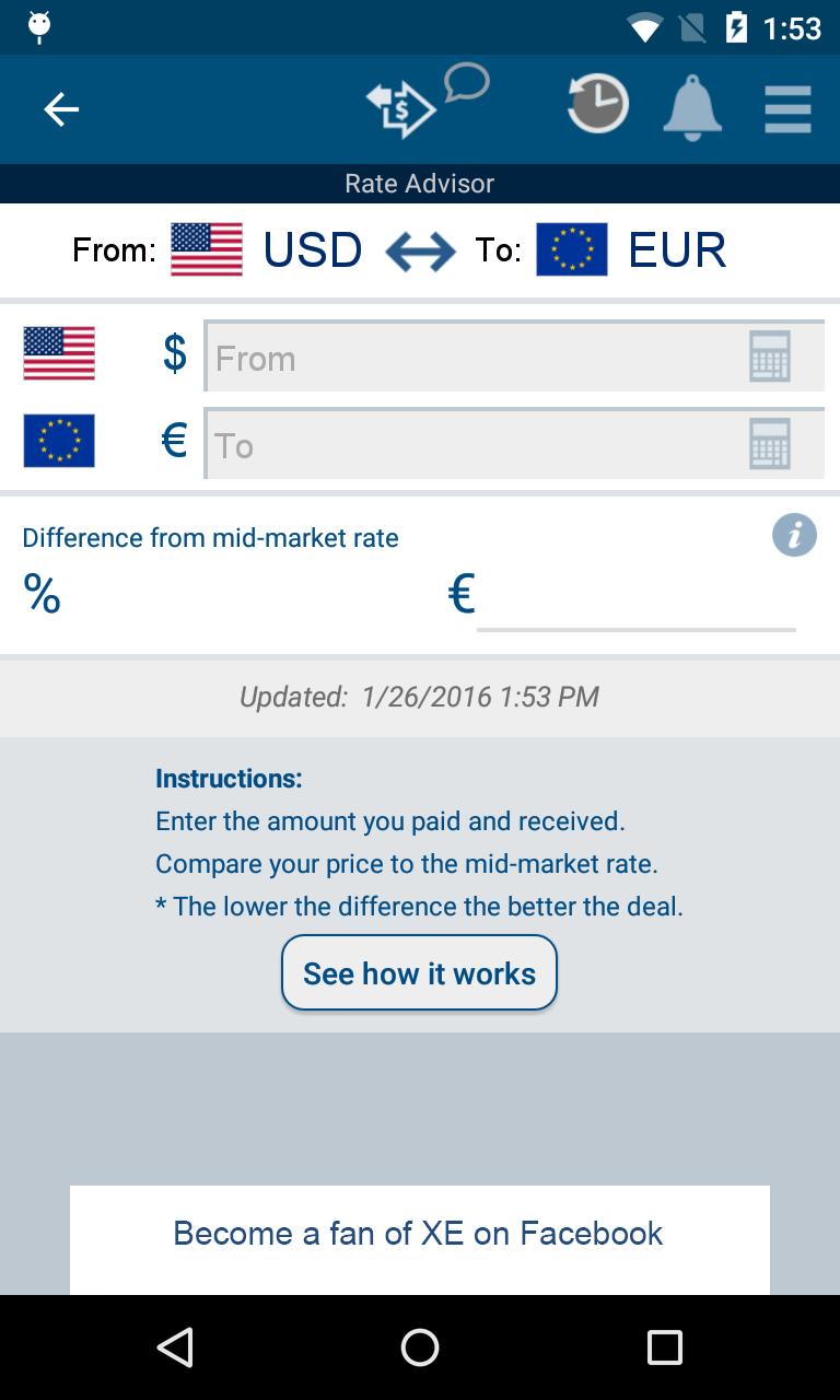 XE Currency screenshot #3