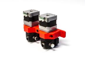 Bondtech QR Extruder Mount Dual Extruder for Lulzbot TAZ 5