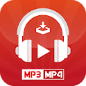 MP3 Music & MP4 Video : Tube Downloader icon