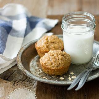 Banana Oat Muffins {GF, Dairy-Free}