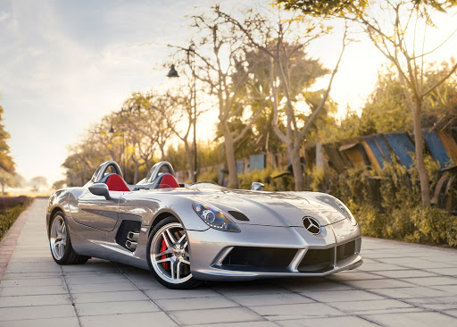 Rare Stirling Moss Merc on auction