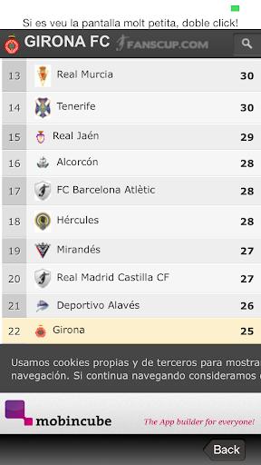 Girona FC app