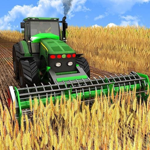Harvester Tractor Farming Simulator Game