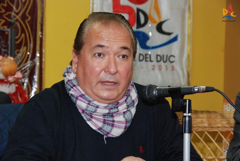 Marcos Soriano reelegido presidente para las Fallas 2017-2018