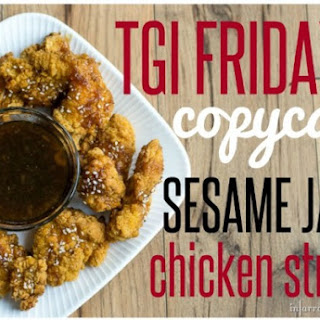 TGI Friday's Sesame Jack Strips Copycat.
