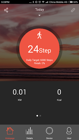 android Veryfit 2.0 Screenshot 4