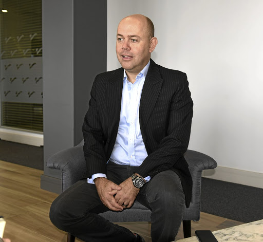 Excited: CEO Etienne Nel of ZAR X says its balance sheet will be bolstered by the PIC's stake in the exchange. Picture: FREDDY MAVUNDA