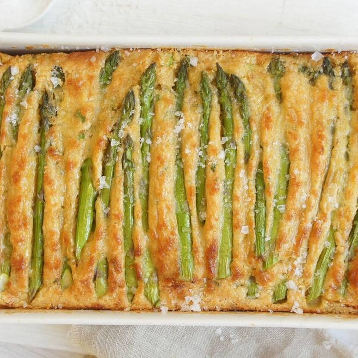 Asparagus and Chicken Quiche