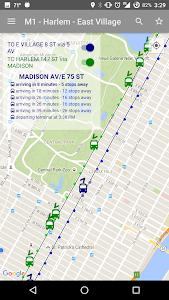 NYC Bus Map - Live screenshot 5