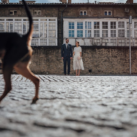 Wedding photographer Asier Aguinaco (klikaphoto). Photo of 18.11.2015