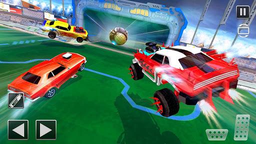 Rocket Car Football Soccer League Champion screenshot 7