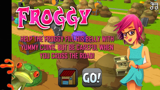Road Crossing Froggy Endless