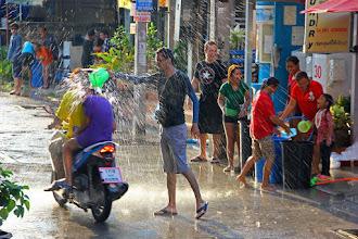 Photo: Pattaya, Тайский новый год (Songkran)