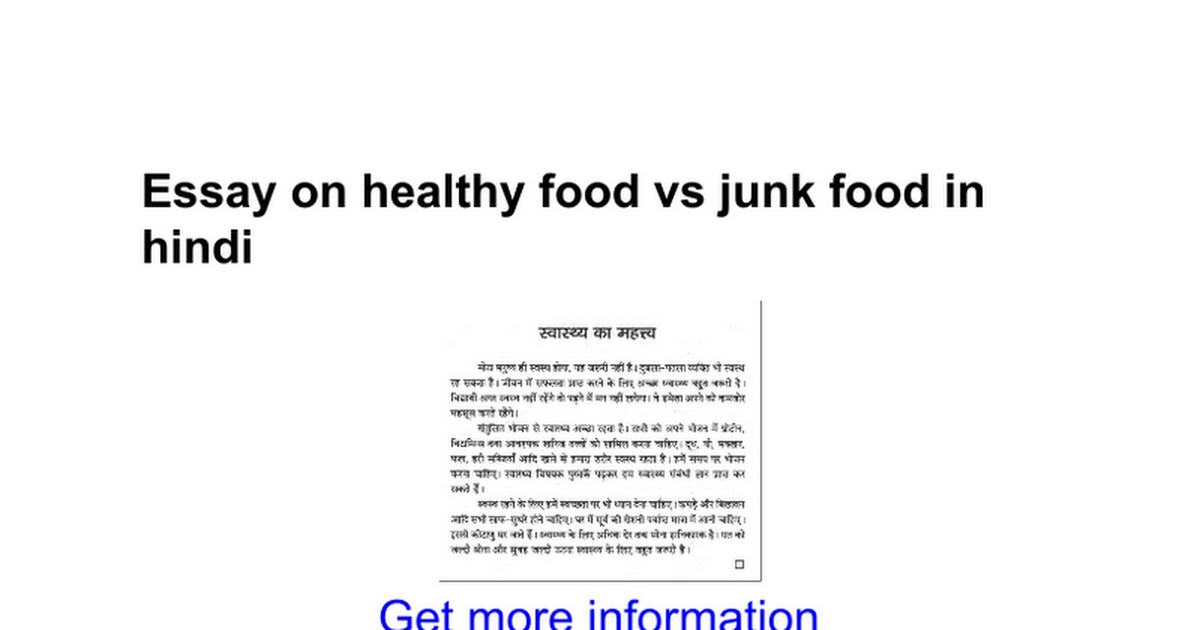 Reasons Eating Junk Food Is Not Good Healthy Eating SF Gate Kibin