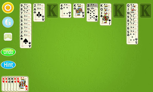 Spider Solitaire Mobile  screenshots 4