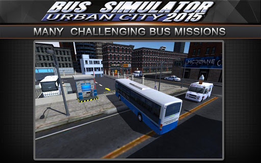 Bus Simulator 2015: Urban City 2.2 screenshots 6