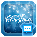 Christmas Dream skin 2018 for Handcent Next SMS icon