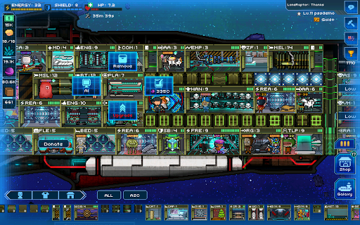 Pixel Starshipsu2122 0.949.7 screenshots 13