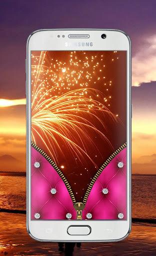 Pink Diamond Lock Screen