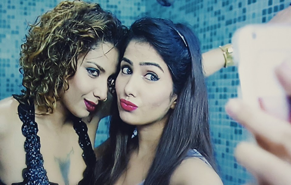 Diandra Soares and Mahi, Love Life & Screw Ups lesbian scene